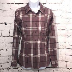 🆕Carhartt Plaid Button Down Shirt, Size S